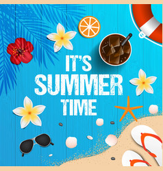 summer background 2018 6 vector image