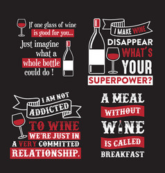 Wine quote and saying 100 best for graphic vector