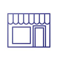 building exterior laundry facade commercial vector image