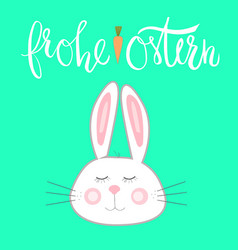 hears rabbit vector image