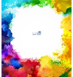 Abstract blots vector image