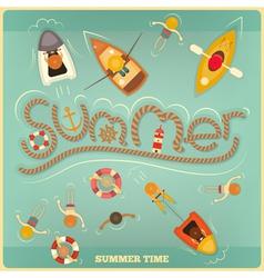 Sea Summer vector image