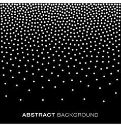 Abstract Gradient Halftone Dots Background vector image