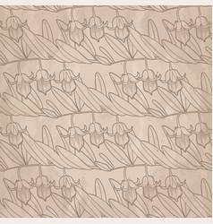 Graphic jojoba pattern vector