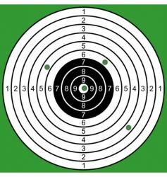 raked target vector image