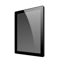 Realistic tablet pc computer vector image