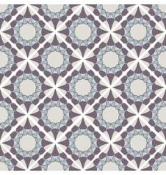 Seamless mosaic geometrical pattern background vector image