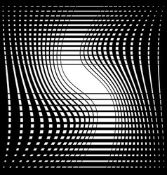 Abstract monochrome background with twisting vector