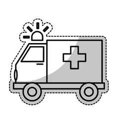 ambulance icon image vector image