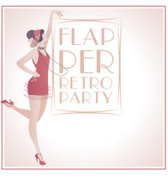 Flappergirls retroparty2-01 vector