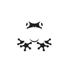 Frog logo vector