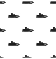 Gumshoes icon in black style isolated on white vector