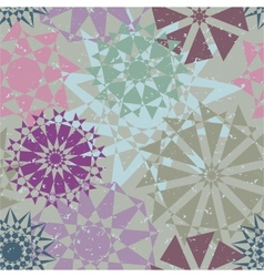 Kaleidoscope Abstract background color rectangles vector