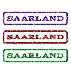 Saarland watermark stamp vector
