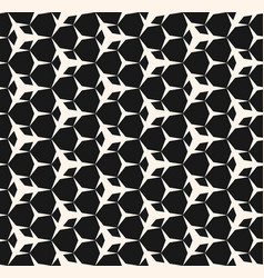 seamless pattern with simple sharped figures vector image vector image