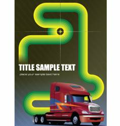 brochure cover vector image vector image