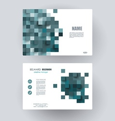 Business cards design template layout vector
