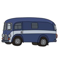 Funny old van vector