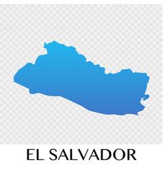 el salvador map in north america continent design vector image vector image