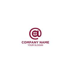 At home logo design vector