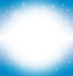 Christmas and winter background - blue vector