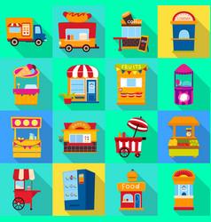 Design amusement and store icon vector