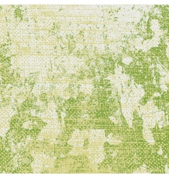 Green Grungy Texture vector image