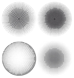 halftone dot pattern vector image