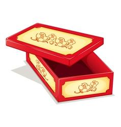 Ornate box vector