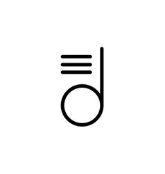 playlist simple icon symbol design template for vector image