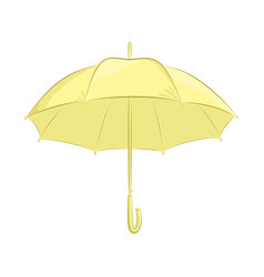 Realistic umbrella female or male accessory the vector