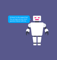 the chatbot mockup this is a vector image