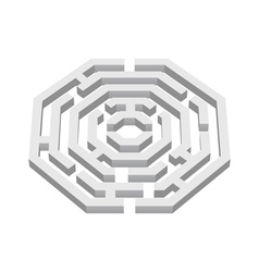 Labyrinth vector image