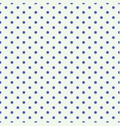 blue dot seamless pattern design for wallpaper vector image
