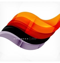 Color orange and purple stripes business design vector