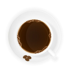 cup of coffee 07 vector image