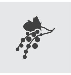 Currant icon vector