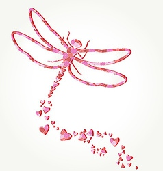 Dragonfly decal vector