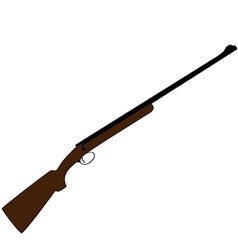 Hunting rifle vector image