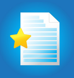 letter text file icon - web page symbol - file vector image