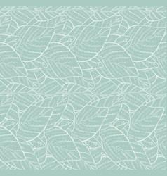 seamless herbal texture vector image