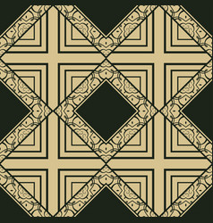 Vinttage seamless pattern vector