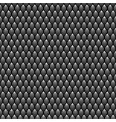 Black Scales Seamless Pattern Texture Stock vector image