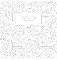 seamless stripes sketch pattern hand drawn design vector image