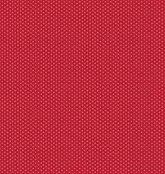 White dots on a red vector image