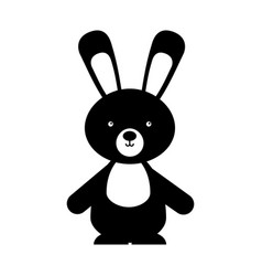 Animal rabbit cartoon vector