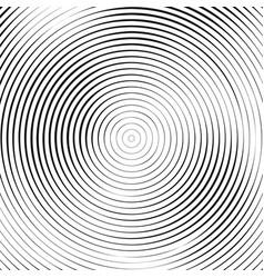 black circular pattern on white background vector image
