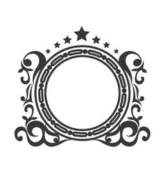 Border frame ornament vector