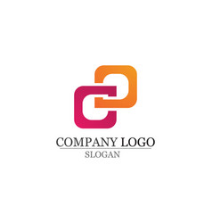 Finance logo and symbols concept vector