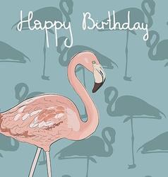 FlamingoAkva8 vector image